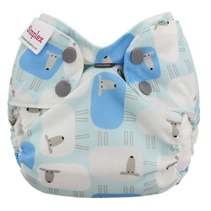 blueberry simplex newborn all in one diaper - Sleepy