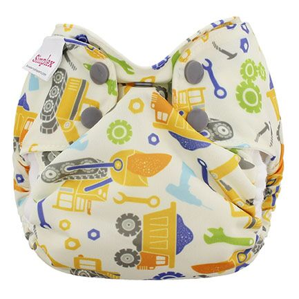 blueberry simplex newborn all in one diaper -  Work Zone