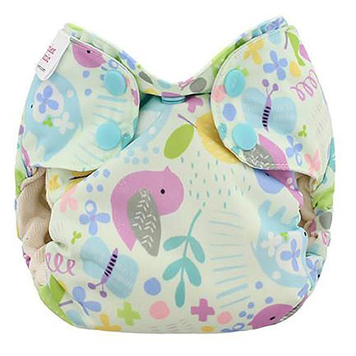 blueberry simplex newborn all in one diaper -  Baby Birds
