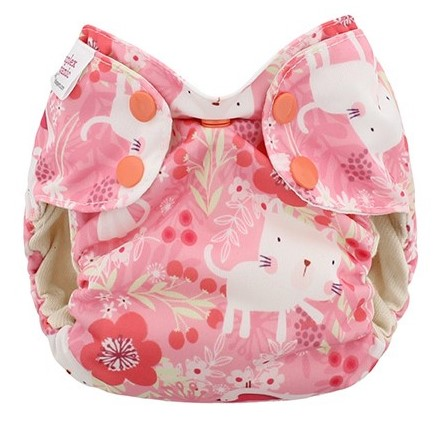 blueberry simplex newborn all in one diaper  - Kittens