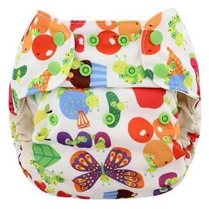 blueberry one size diaper - Picnic
