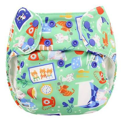 blueberry simplex diaper - bedtime story