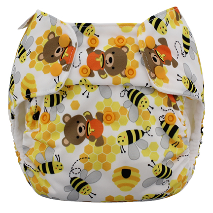blueberry one size diaper -  Bears & the Bees