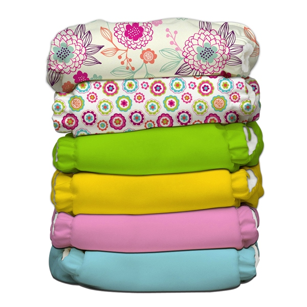 charlie banana one size cloth diaper value pack - Dreamy