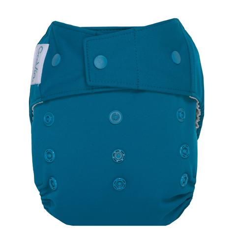 GroVia cloth diaper cover snap - abalone