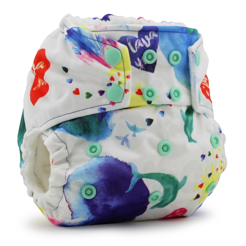 rumparooz cloth diaper - lava