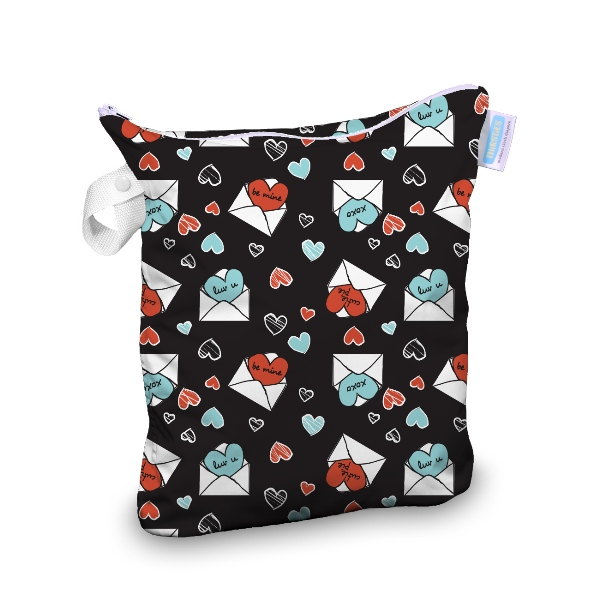 Thirsties wet bag -  Love Notes
