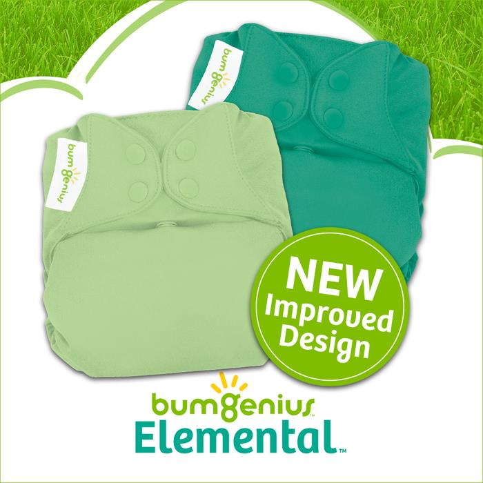 bumgenius new elemental cloth diapers - austen