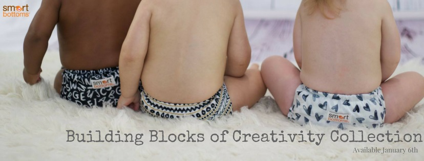 smart bottoms cloth diapers - building blocks