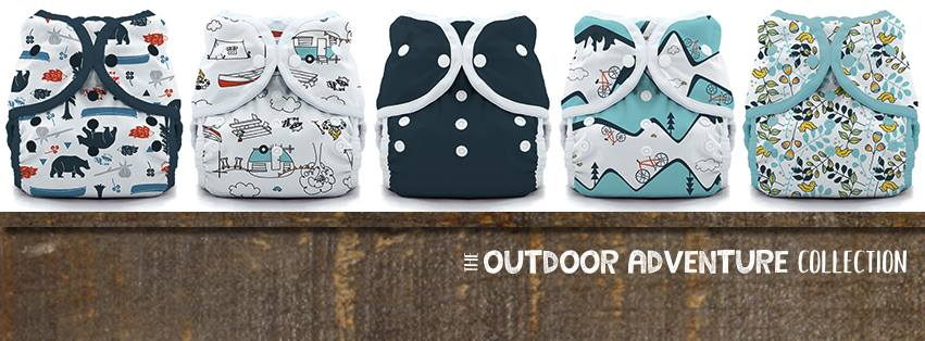 thirsties cloth diapers - outdoor adventure collection
