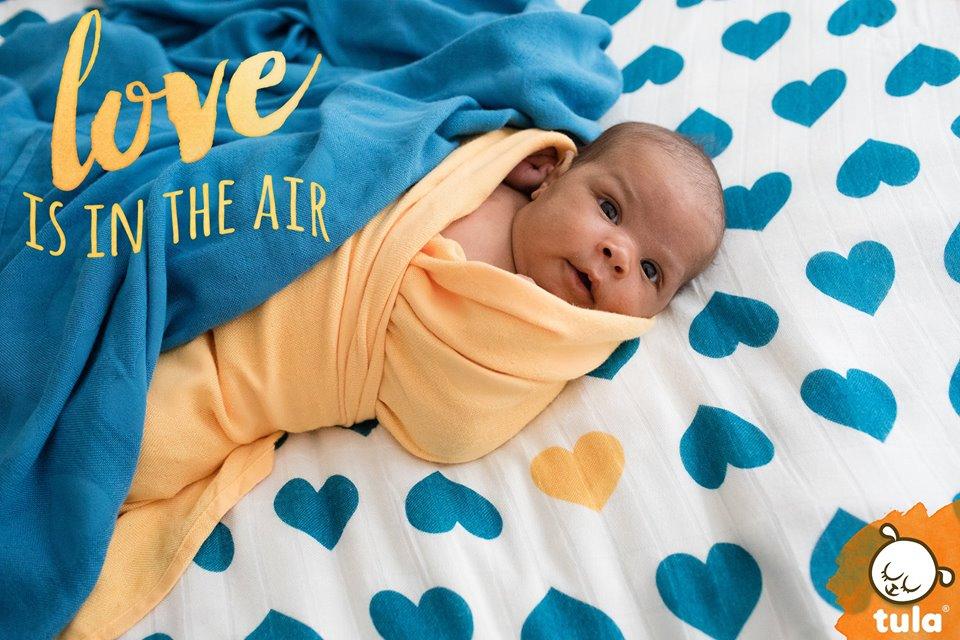 tula baby blanket Love Soleil