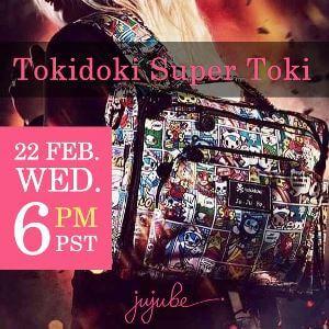jujube tokidoki super toki and sweet victory