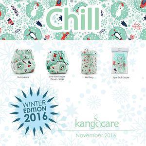 kangacare rumparooz diapers - chill winter edition