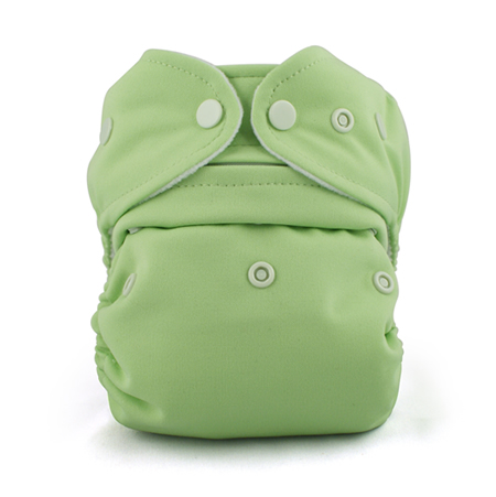 Baby Kangas One Size Cloth Diaper- meadow green