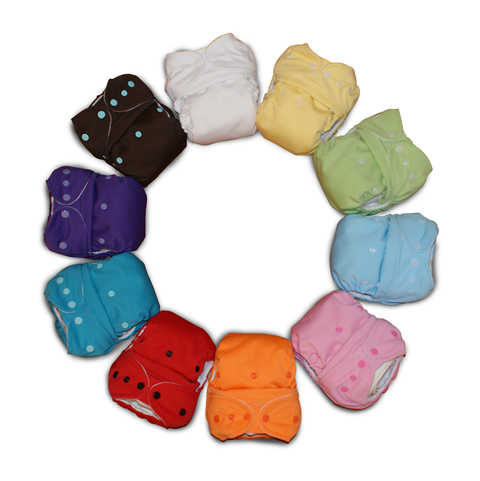 Available Colors of Baby Kangas One Size Cloth Diaper