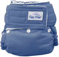 happy heinys organic one size pocket diaper detail one