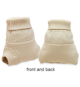 kissaluvs wool diaper cover - front and back
