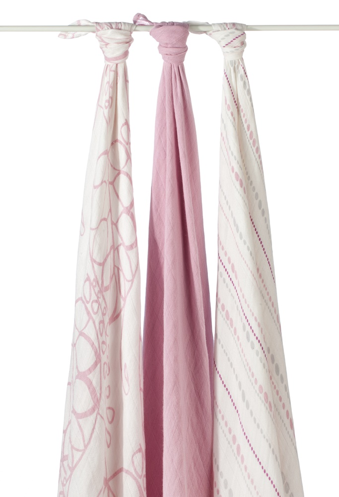 aden and anais bamboo swaddle blanket -  Tranquility