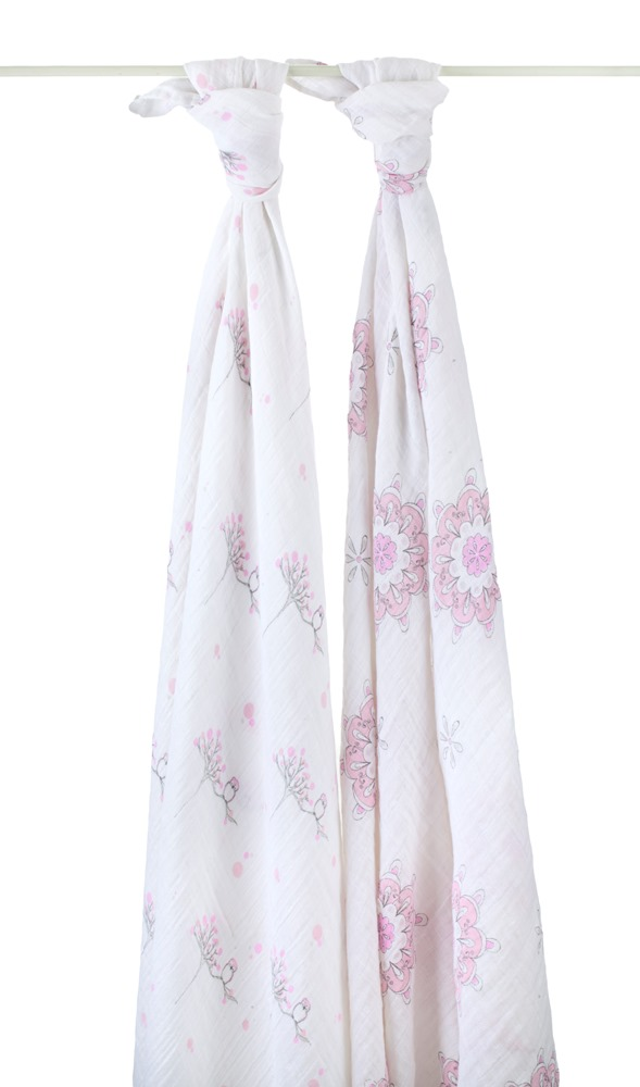 aden and anais swaddle blanket - for the birds
