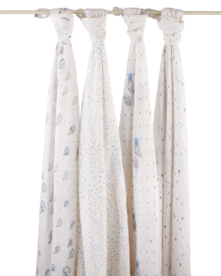 aden and anais swaddle blanket - night sky