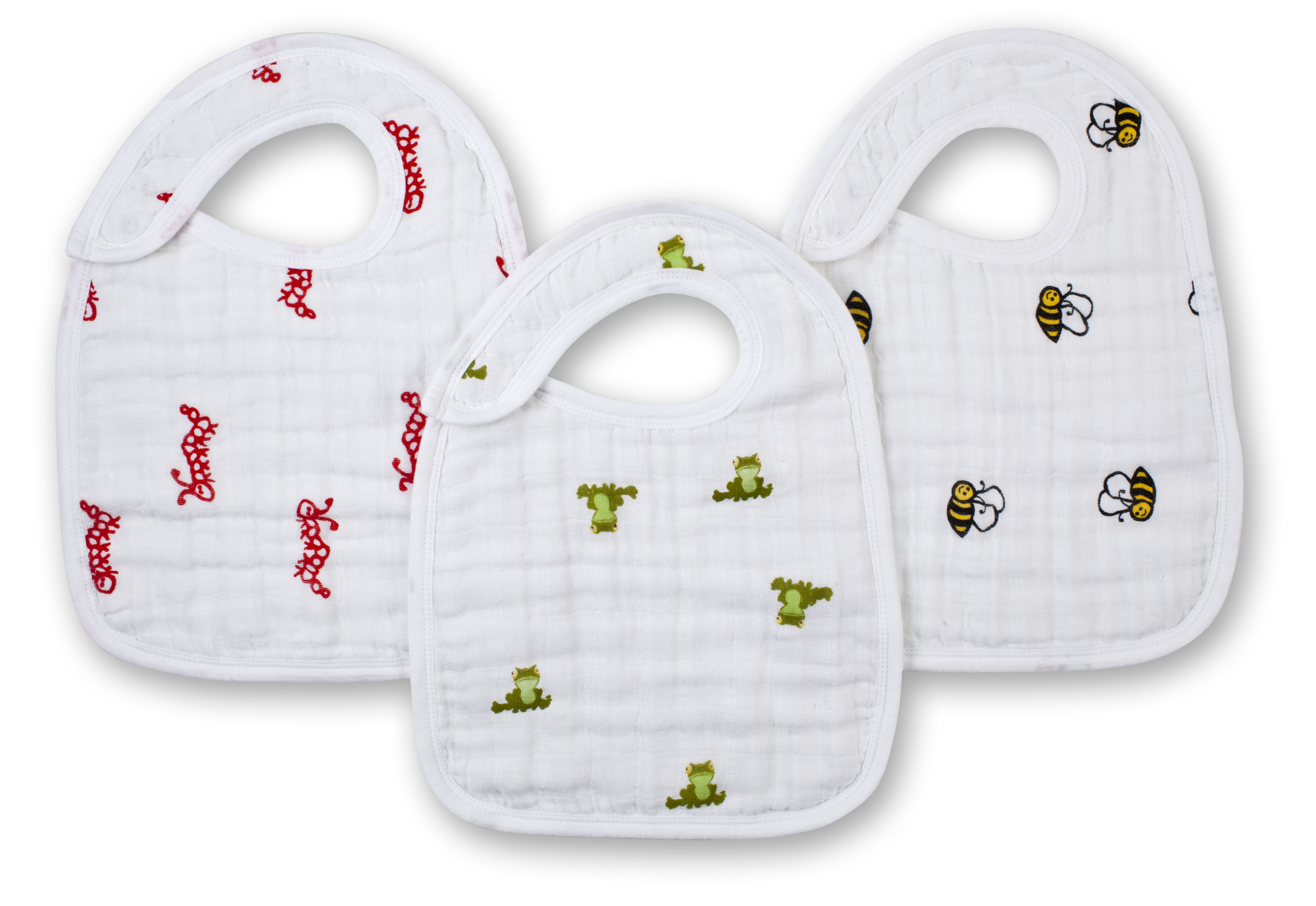 aden and anais snap bibs - mod about baby