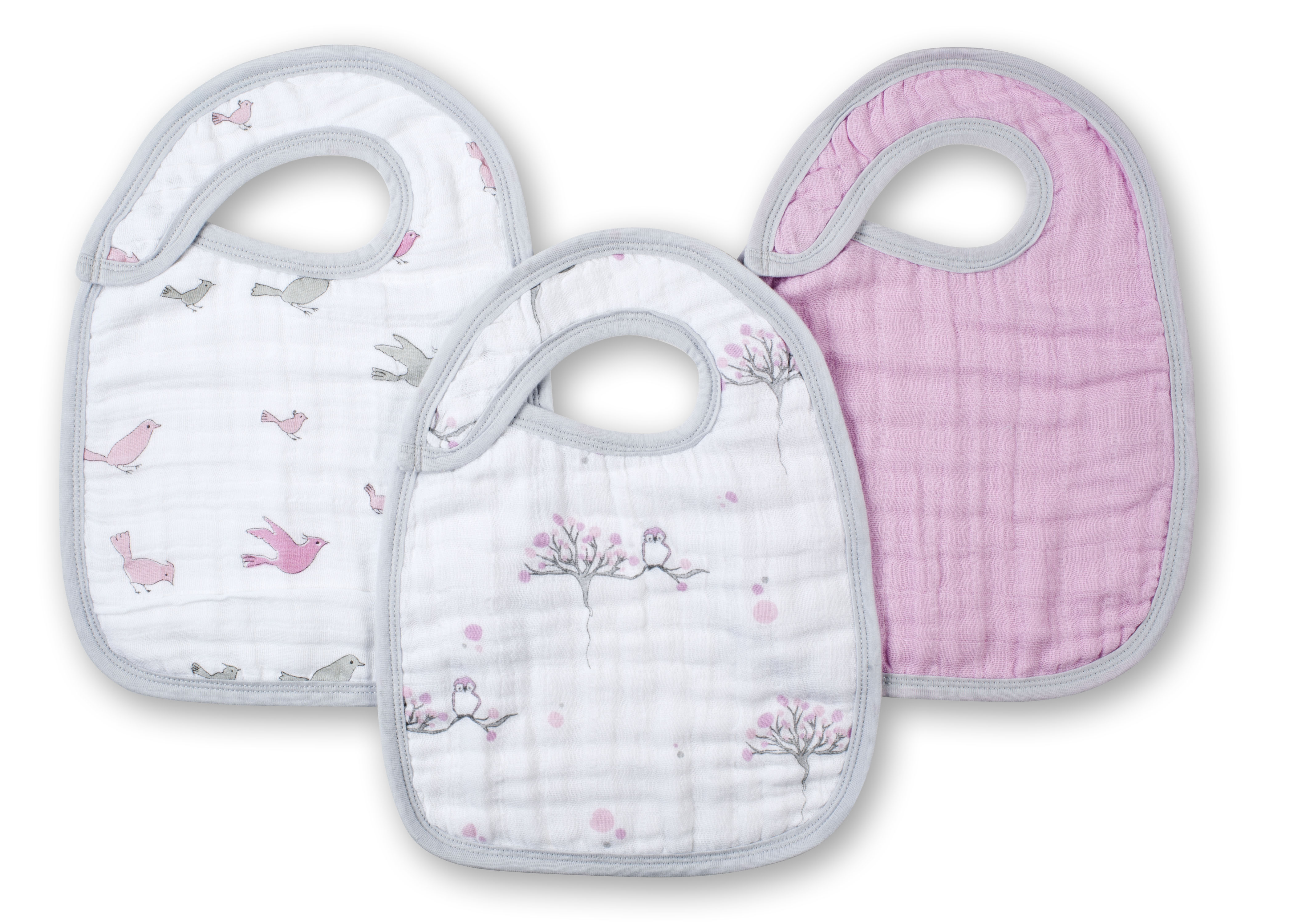 aden and anais snap bibs - for the birds