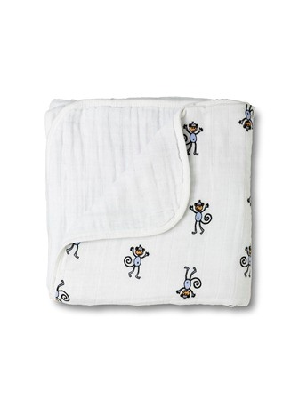 aden and anais dream blanket - monkey