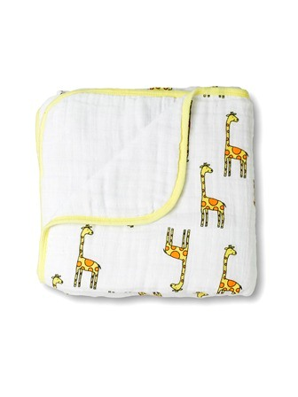 aden and anais dream blanket - giraffe