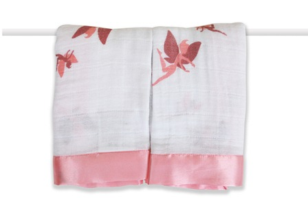 aden and anais issies security  blanket - fairies