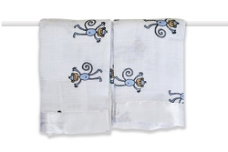 aden and anais issies security  blanket - monkey