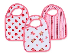 aden and anais snap bibs - princess