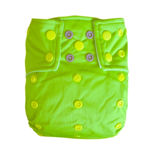 alvababy one size cloth diaper - green