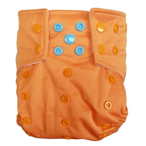 alvababy one size cloth diaper - orange