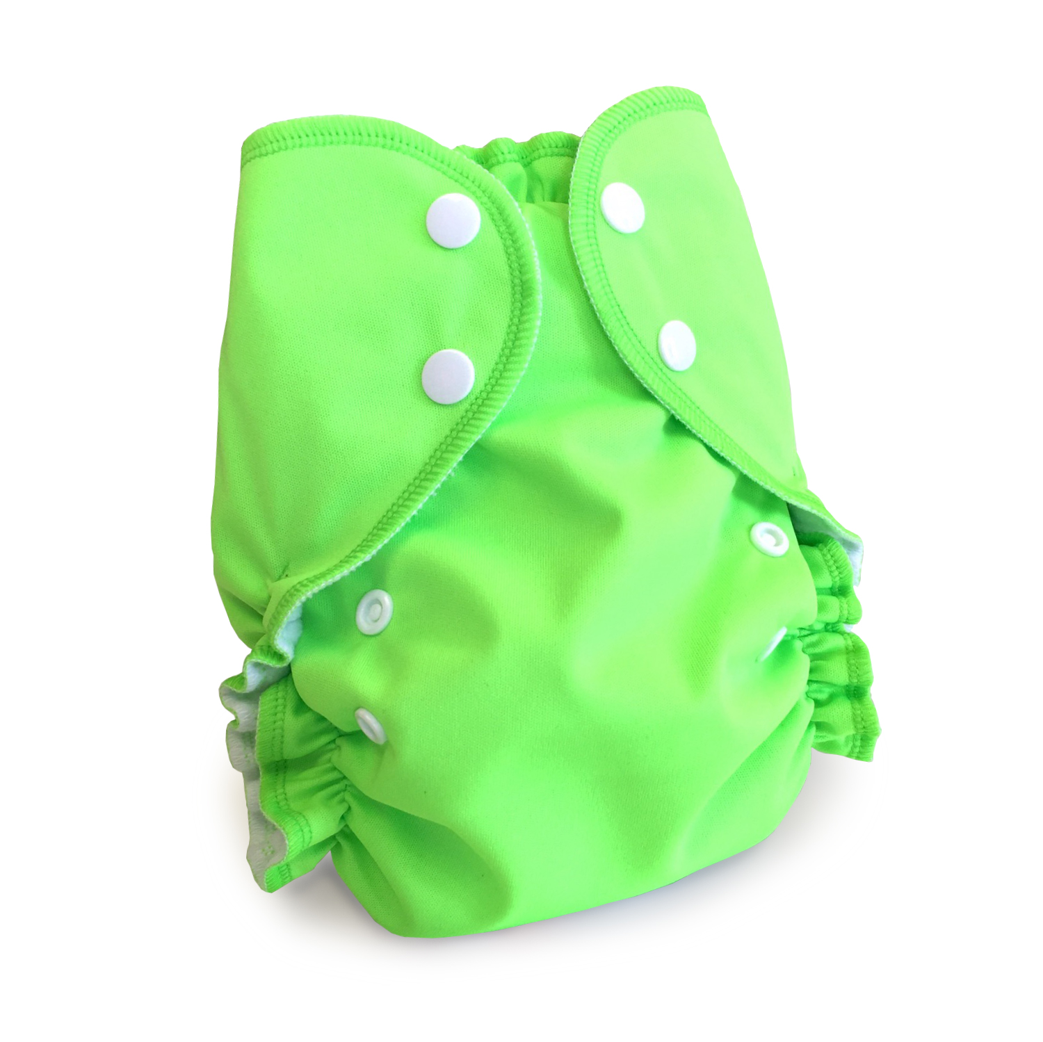 amp cloth diaper - LIME