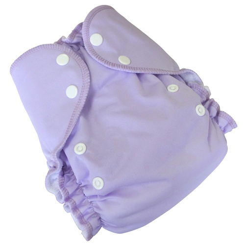 amp cloth diaper - LAVENDER