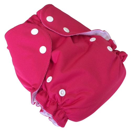 amp cloth diaper - MAGENTA