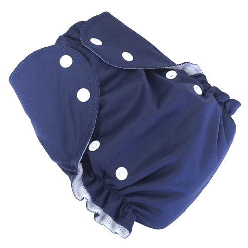 amp cloth diaper - NAVY
