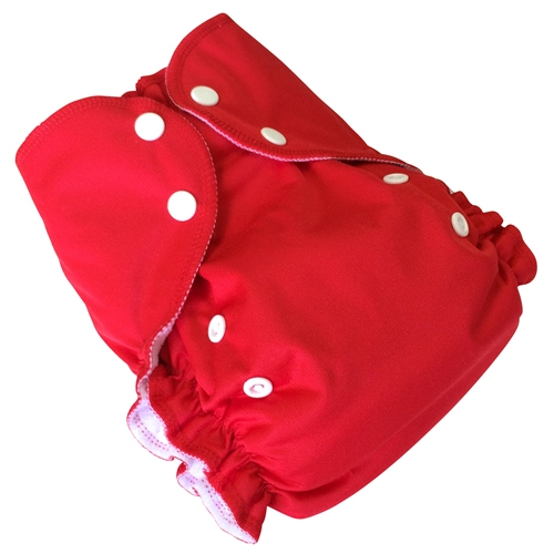 amp cloth diaper - RED