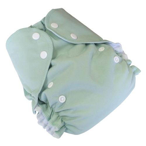 amp cloth diaper - SAGE