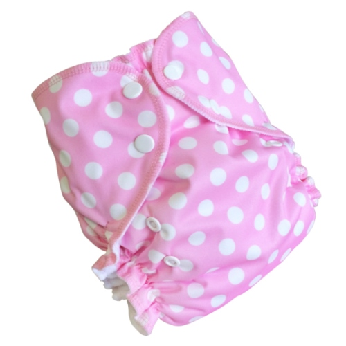 amp cloth diaper - dotty