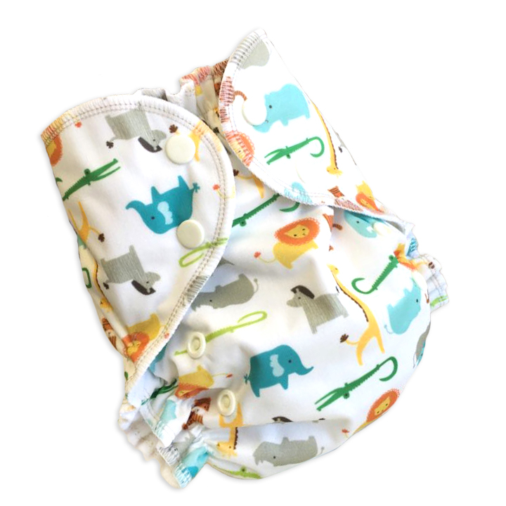 amp cloth diaper - jungle fever