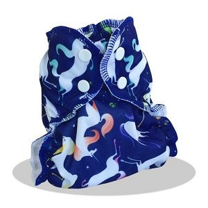 applecheeks envelop cloth diaper cover -  UNICORNUCOPIA