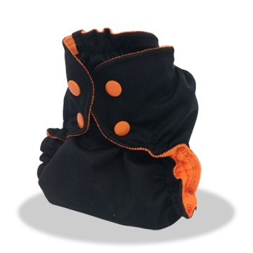 applecheeks envelop cloth diaper cover - boo!