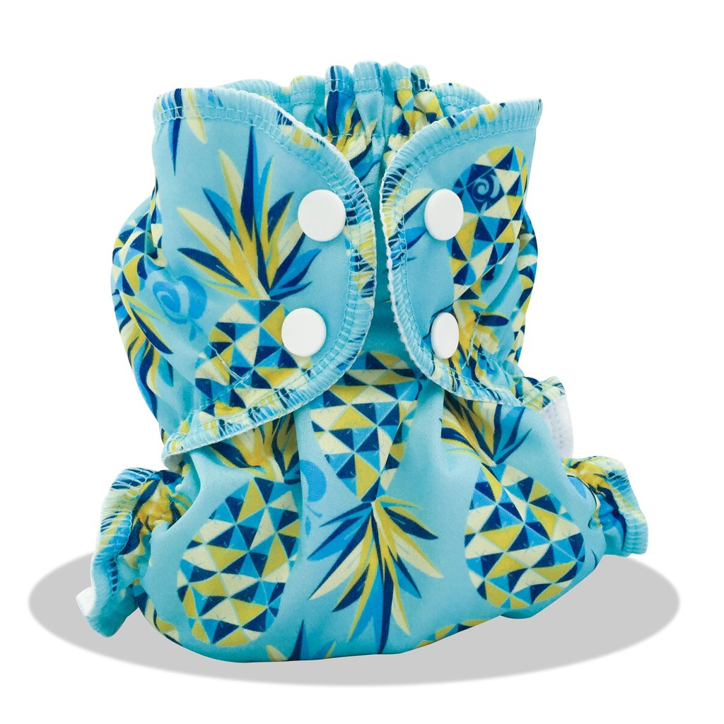 applecheeks envelop cloth diaper cover - coolio