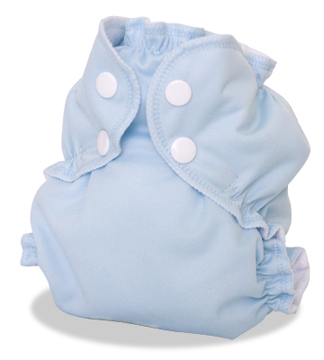 applecheeks envelop cloth diaper cover - forgetmenot