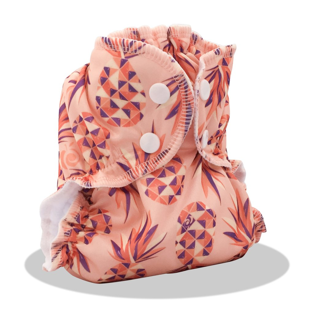 applecheeks envelop cloth diaper cover - lola