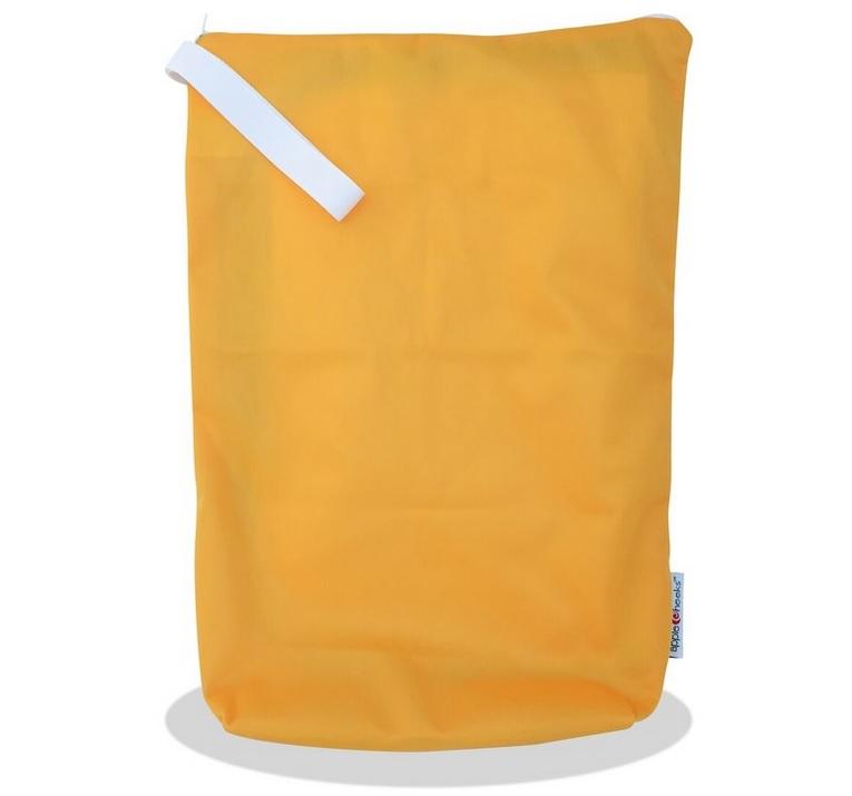 applecheeks zippered storage bag - don't worry