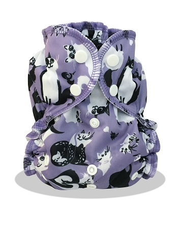 applecheeks one size cloth diaper cover - CATURDAY