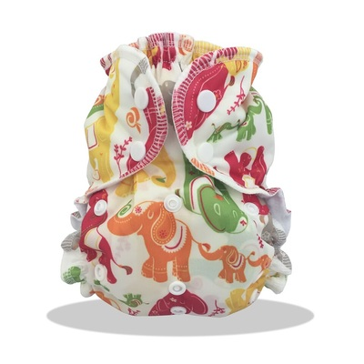 applecheeks one size cloth diaper cover - PARADE