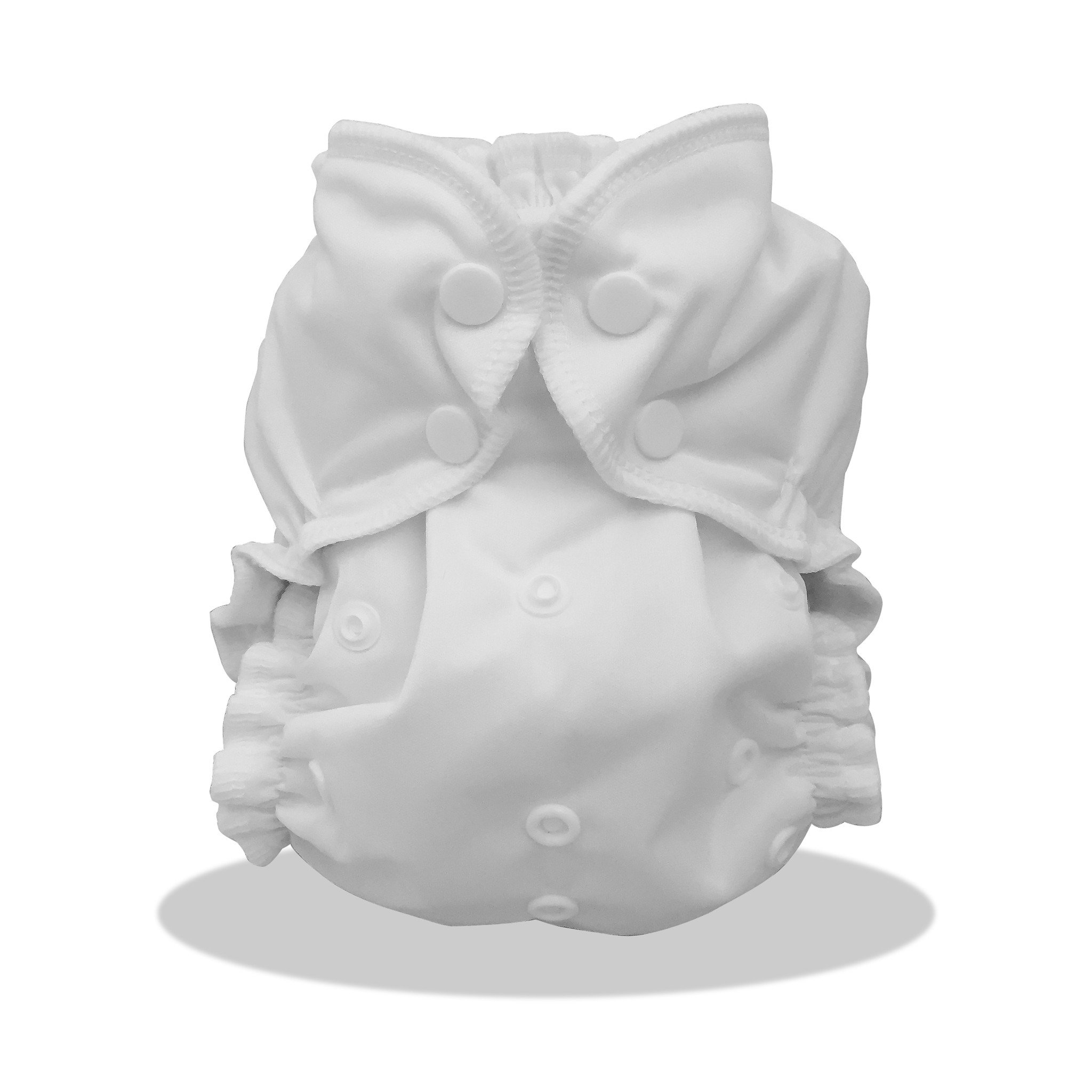 applecheeks one size cloth diaper cover - STORM